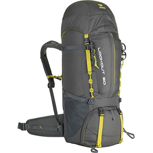 Mountainsmith Lookout 60L Backpack Asphalt Grey, One Size