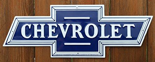 Die Cut Wall (Chevrolet Chevy Bowtie Logo Die-Cut Tin Sign)