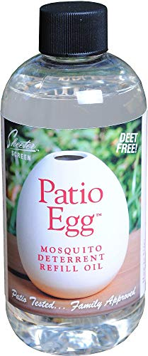 Scent Shop 90602 Skeeter Screen Patio Egg Mosquito Deterrent Refill Oil, 8 Ounces, 1 (Mosquito Patio Screens For)