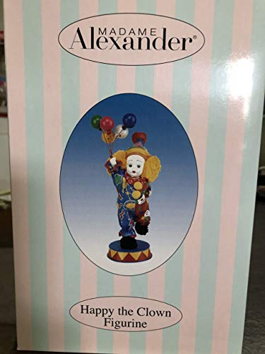 - Madame Alexander Collectibles Happy The Clown Figurine