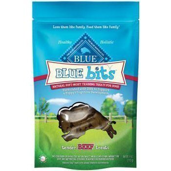 Blue Buffalo Blue Bits Beef Dog Training Treats, 8 oz. For Sale