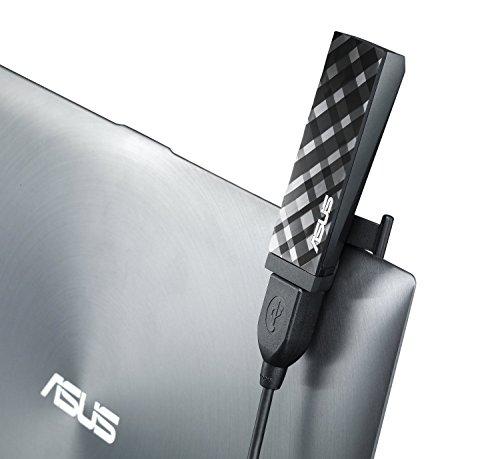 Asus USB-AC53 USB 2.0 802.11a/b/g/n/ac Wi-Fi Adapter