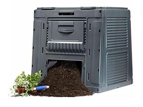 Escher 14776500 Compostiera Bio, Componibile, 650 Litri, Nero Hobbystore 17184214