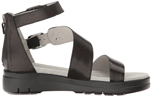 Jambu Damen Cape May Wedge Sandale Schwarzer Feststoff