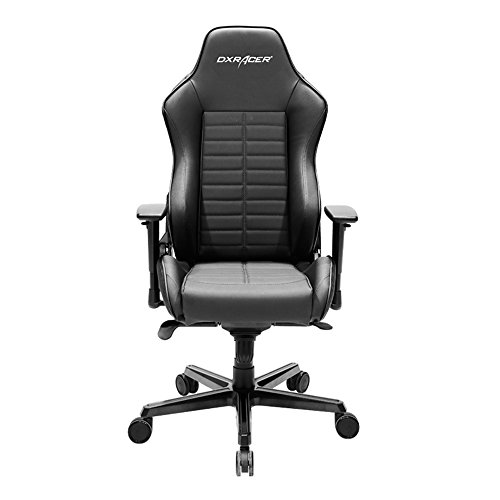 DXRacer Drifting Series DOH/DJ133/N With Name Racing Bucket Seat Office Chair Gaming Chair Ergonomic Computer Chair eSports Desk Chair Executive Chair Furniture with Free Cushions (Black) by DX Racer