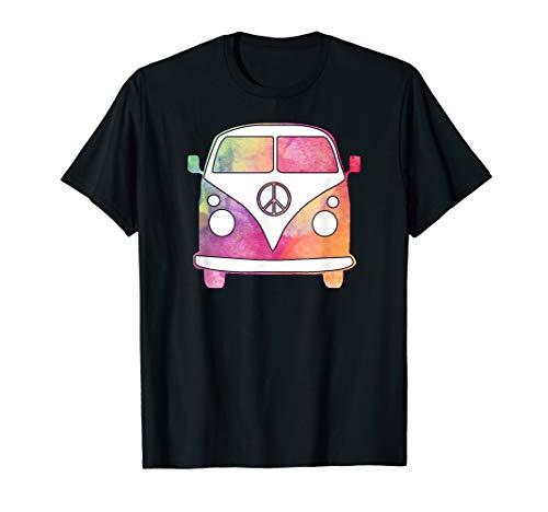 Watercolor Camper Van t-shirt, road trip, vacation, groovy ()