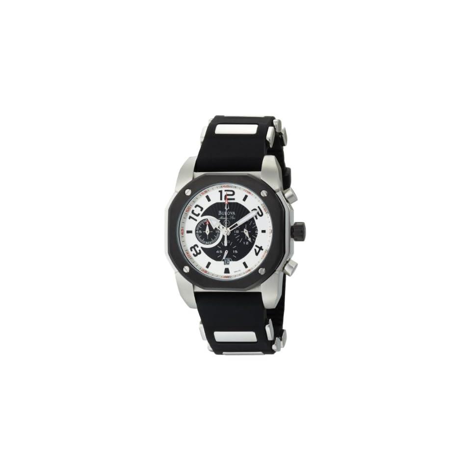 Bulova Mens 98B139 Marine Star Black Dial Watch
