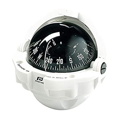 Image of Boat Compasses Plastimo Offshore 105 Flat Card, Wht Z/ABC
