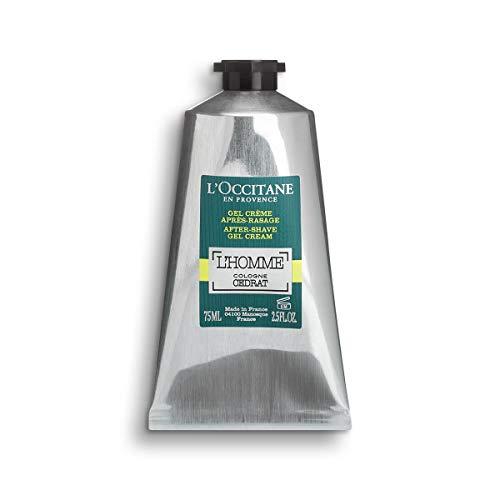 L Occitane Zesty Aquatic L homme Cologne Cedrat Gel-Cream After-shave, 2.5 Fl. oz.