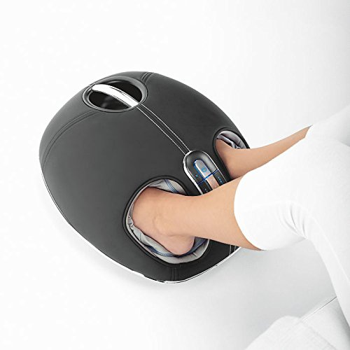 Brookstone 839379 Shiatsu Foot Massager with Heat
