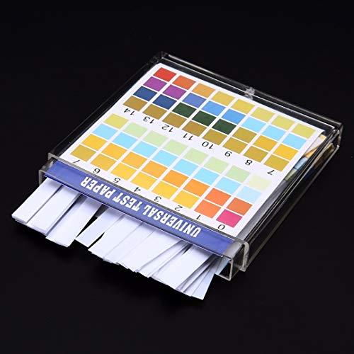 (NIDIBI 100 Strips/Set 0-14 PH Test Kit Alkaline Acid Indicator Paper Water Saliva Litmus Tester Mayitr Measurement Analysis Instruments New Product)