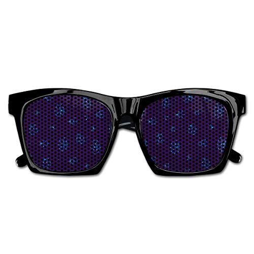 Ysm&Gaz Vector Pattern Unisex Polarized Party Sunglasses Resin Frame Eyewear Favor Mesh Lens Sun Glasses