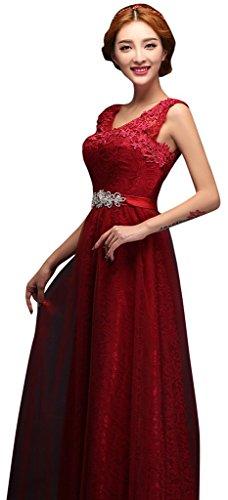 Damen Kleid Rot Rot Drasawee Schlauch 7qad7fw
