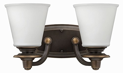 Hinkley 54262OB Traditional Two Light Bath from Plymouth collection in - Bath Plymouth Lighting