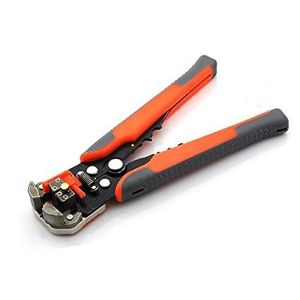 hikenn Alicate pelacables automático/Crimpadora autoajustable/soldadura ajustable Stripper Terminal de Tool