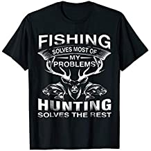 Funny Fishing Hunting T-Shirt Gift for Hunters