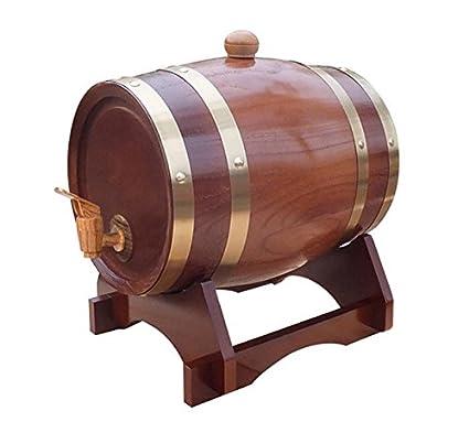 Dispensador de madera horizontal del barril del vino Café del pino , 1.5L