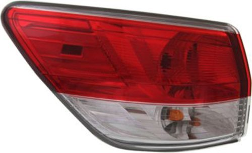 Crash Parts Plus Left Driver Side Tail Light Tail Lamp for 2013-2015 Nissan - Lamp Tail Pathfinder Nissan