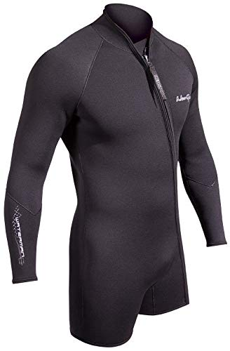 Neosport Men's 7mm Waterman Jacket Black XL