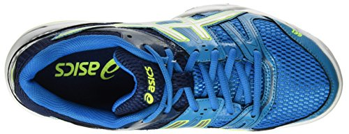 Asics Herren Gel-Rocket 7 Turnschuhe Blau (Blue Jewel/glacier Grey/safety Yellow)