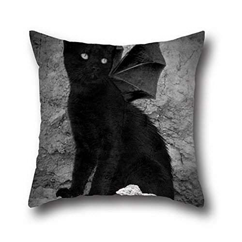 Goling Bbay Oil Painting Black Cats Halloween Pillow Protectors Body Pillow Cover ( 20*30 (Halloween Parties Richmond Va)