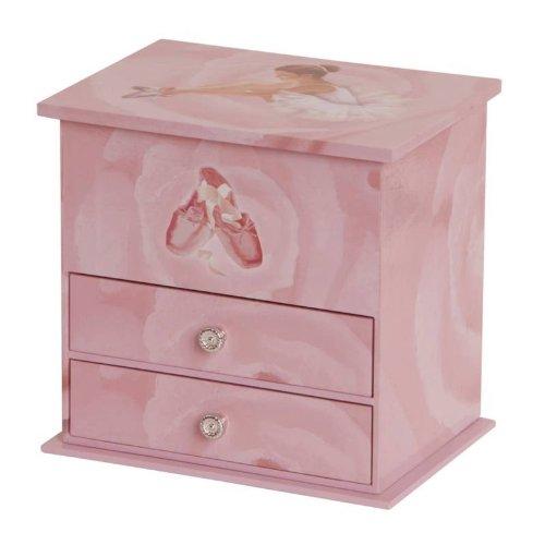 Mele & Co. Casey Girl's Musical Ballerina Jewelry Box