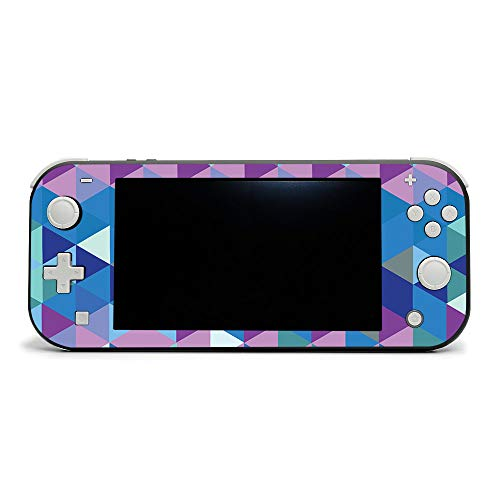 MightySkins Skin Compatible with Nintendo Switch Lite - Purple Kaleidoscope | Protective, Durable, and Unique Vinyl Decal Wrap Cover | Easy to Apply, Remove, and Change Styles | Made In The USA