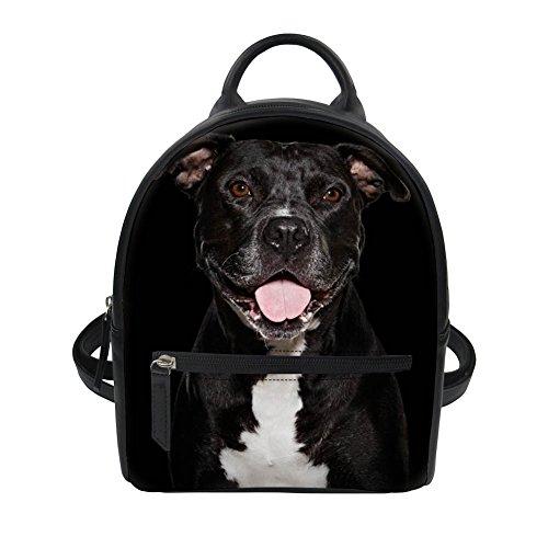 4 femme à Noir Dog Dog main Nopersonality pour porté Sac dos au 4 H65TqR7w