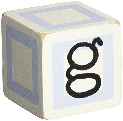 New Arrivals Letter Block G, Blue/White