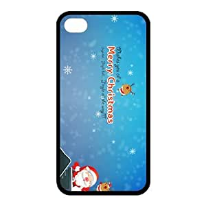Custom Christmas Back Cover Case for iphone 4,4S JN-521