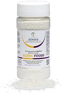 Acidic Foods -3 oz. Granules: guaranteed, scientific-breakthrough AlkaPlex(R