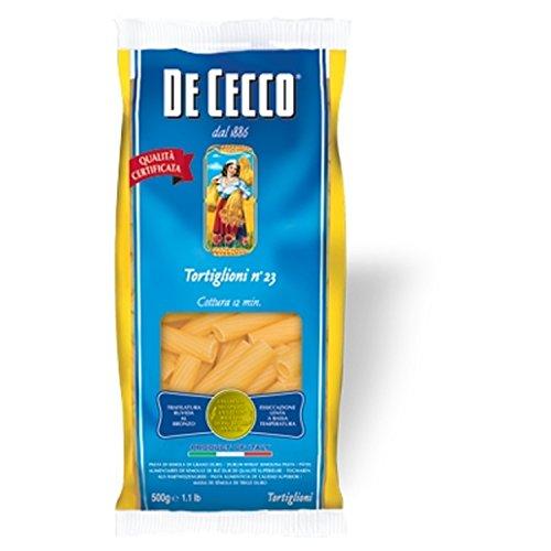 Nudeln Pasta Tortiglioni n° 23 500 gr. - De Cecco
