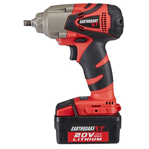 Earthquake Extreme Torque 3 8 Cordless 20 Volt Lithium Ion Impact Wrench