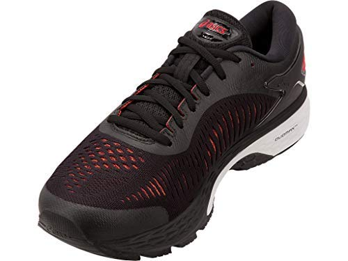 ASICS Gel-Kayano 25 Men's Running Shoe, Black/Classic Red, 7 D US by ASICS (Image #3)