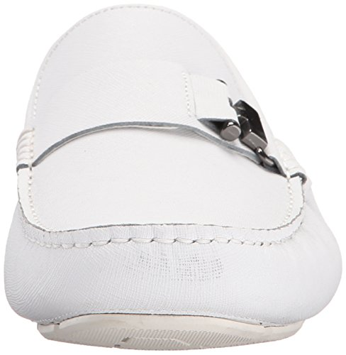 York New Theme Kenneth Men's Cole White Loafer Slip On in wFvxEq