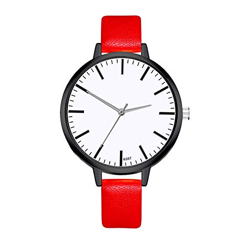 Yellsong Women's Watch,Quartz Watch Woman's High-end Blue Glass Life Waterproof Classic Distinguished Strap with Multiple Colors Women Couple