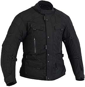 Australian Bikers Gear The Infinity Chaqueta de moto en color Negro  tejido Cordura con protecciones TALLA 3XL