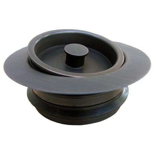 LASCO 03-1075OB Heavy Duty, PVC Body, Universal Disposal Stopper And Flange, Dark Oil Rubbed Bronze by LASCO