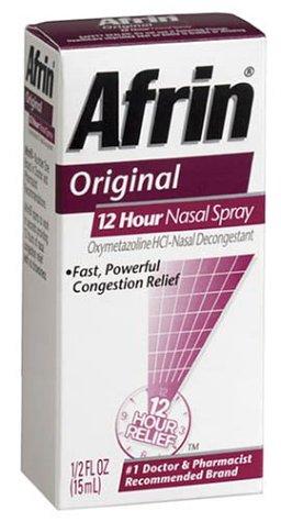 Afrin 12 heures décongestionnant nasal spray, d'origine - 0,5 onces liquides