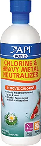 PONDCARE CHLORINE AND HEAVY METAL NEUTRALIZER - 16 OUNCE - Heavy Metal Neutralizer