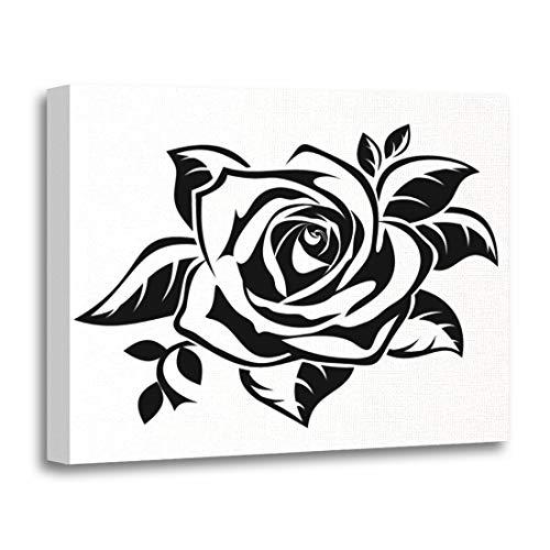 Burgundy White Art Print - Semtomn 16