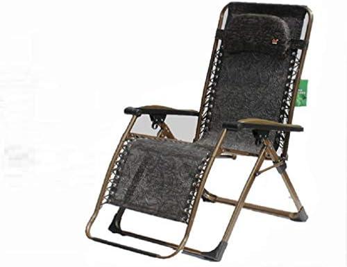 YOPEEN Tumbonas   Sillón reclinable Zero Gravity Patio Sillón reclinable Acolchado XL Extragrande con Soporte para reposacabezas 350lbs, C, 1 Pack: Amazon.es: Jardín