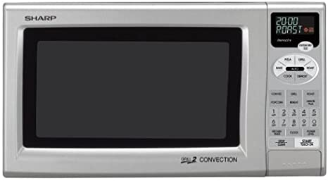 Amazon.com: Sharp r-820js 0.9-cubic pie Grill 2 microondas ...