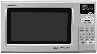 Sharp R-820JS 0.9-Cubic Foot Grill 2 Convection Microwave, Silver (B0002ATU7W) | Amazon price tracker / tracking, Amazon price history charts, Amazon price watches, Amazon price drop alerts