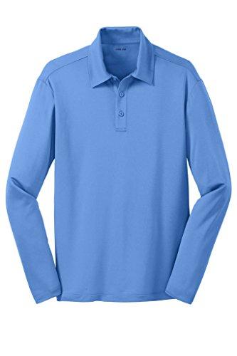 Joe's USA(tm Men's Long Sleeve Silk Touch Golf Polo-Carolina - Usa Carolina Long Sleeve