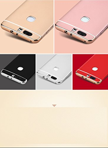 Huawei Honor V8 Funda, Huawei Honor V8 Case,Huawei Honor V8 cover, Huawei Honor V8 shell,Manyip Delgado El color, Funda,3 in 1 La combinación de tres párrafos, Protectiva Case Cover (ZG-24) B