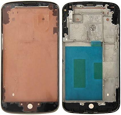 Niza bisel del capítulo Medio for Google Nexus 4 / E960 (Negro ...