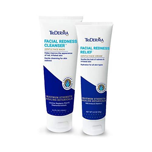 TriDerma Facial Redness Bundle (Facial Repair Triderma Redness)