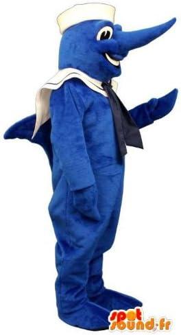 Mascota SpotSound Amazon personalizable equipo del marinero azul ...