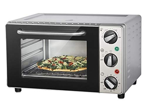 Silvercrest Mini horno 15 L - 1300 W - Mini horno para pizza SGB ...